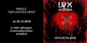LVX AETERNA SIngle Geflicktes Herz